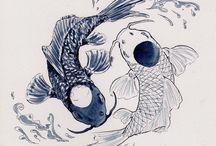 mermaid yang yang tattoo