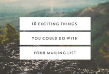 Email Lists / Building email list tips for your business.