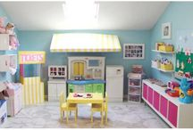 Play rooms/house for kids / by Aubrey kearl