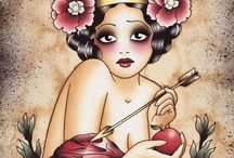 Sketches & Tattoo Inspirations / by Aline Rommert