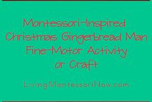Gingerbread activities / by Jackie Hill