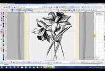 Janome-06 Digitizer MB&MBX / Создание дизайнов для машинной вышивки в программе DigitizerMB&MBX