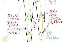 body parts - feet n legs