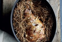 Modern Twists for roast lamb / Easter Sunday lunch just wouldn't be the same without roast lamb, but that doesn't have to mean mint sauce and roast potatoes. These recipes are the perfect mix of tradition with a little bit of modern style.