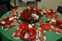 Christmas Tablescapes / by Renee' Odom