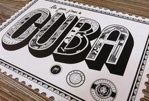 postales tipografías