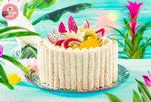 Exotische Kuchen - { Tropical Cakes }