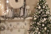Silver and White Christmas