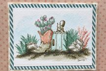 Tiny stamps/art impressions watercolor 4