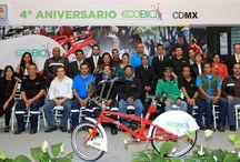 Cuarto Aniversario Ecobici / Les compartimos algunos de los momentos de nuestra celebración.
