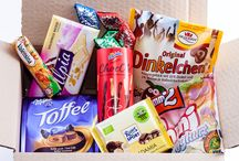 January 2015 box / Get to know more about your box at https://candygerman.com/blog/our-january-german-candy-box