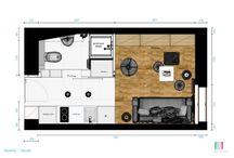 Donská 17 m2 / Mini byt - all in 17 m2