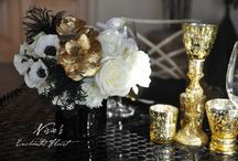 Silver and Gold / 'Tis the season for silver and gold! This is absolutely stunning for the holidays and the New Year's!
