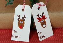 lage julekort barn