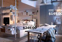 Apartment ideas / by Ashley Klonowski