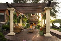 Fun and Inspiring Outdoor Living / Perfect for relaxing, entertaining or fun with the family; you'll find some inspiration with these outdoor living spaces!