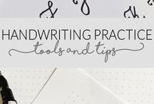 Writing/calligraphy
