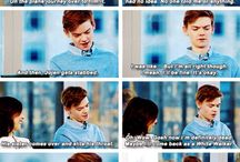 Thomas Brodie Sangster & co / Like The Maze Runner and stuff like that, just sayin': Cute, cute and cute! I warned you❤️❤️❤️