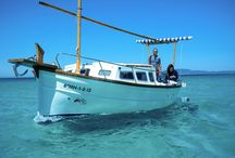 llaüt Spock / Here we show you the llaüt Spock, a lovely boat that you can rent in Formentera