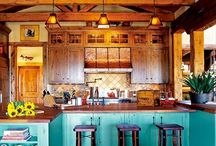 Favorite Kitchen Spaces / by Lisa & McKenzie