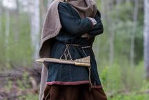 Vikingklær mann