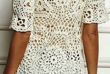 blusa ganchillo con graficos