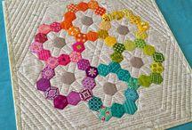 quilt hexagone