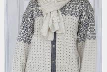 strikke jakke (dame)