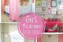 Girls Bedroom - Space