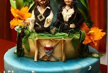 Johnny Depp in Fondant / Johnny Depp is delicious...  Cake is delicious...  It makes perfect sense to me.  But it's still just a mite ridiculous. / by Lauren Schultz