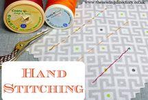 sew hand stitching