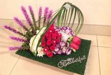 Gift ideas ...modern flower arrangements