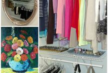 Closet ideas / by Marlena Bryant
