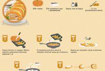 Блюда из тыквы ,кабачков,баклажанов / Блюда из тыквы  -кабачка - баклажан
