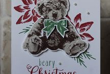 stampin'up christmas cards