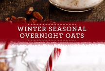 Cozy Up With Quaker / Fill the house with the sweet scent of warm cookies or create healthy, hearty recipes for the new year! Put a twist on the old and introduce a little something new with our wonderful Winter recipes!