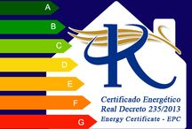 Energy Performance Certificates - Almeria, Murcia & Alicante / 121€ (Visit from Architect, EPC, Registration & IVA included). Any build size - Real Decreto 235/2013 (01/06/13) - Certificado de Eficiencia Energética (CEE) - Energy Performance / Efficiency Certificates (EPC) - Property owners must have an EPC to sell or rent.  RMBSpain are working alongside Architects & Engineer experts in the Energy Efficiency Label in order to help achieve the most competitive price to all our clients.  For more info & Testimonials:  www.RMBspain.com