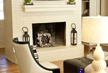 Fireplace painting / by Stephanie Allen