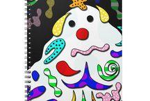 Creative spiral notebooks / Creative spiral notebooks