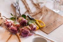 WORKSHOPS / Wild Wood London provide bouquet, calligraphy, wreath and flower crown workshops at our Wandsworth studio or a venue of your choice.