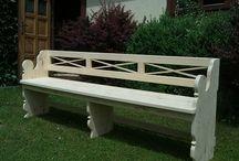 Zahradní nábytek / Nábytek vyráběný naší firmou, který se hodí hlavně do exteriéru nebo na zahradu.