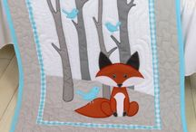 Foxes quilts