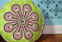 Crochet - Pillows and Floor Cushions / by Kathleen Brown