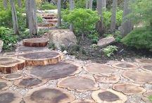 Wood Cookie Walkways