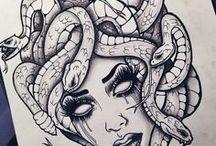 Татуировка С Медузой
