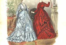 Fashion plates 1860's