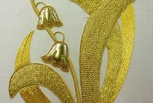 Embroidery gold