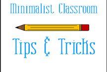 Minimalist Classroom