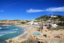 Westen Ibizas / Hier sind Bilder aus dem westlichen Ibiza zu finden. Zum Beispiel von Stränden wie Cala Tarida, Cala Vedella oder Cala d'Hort.