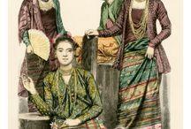 Burma girls 1900